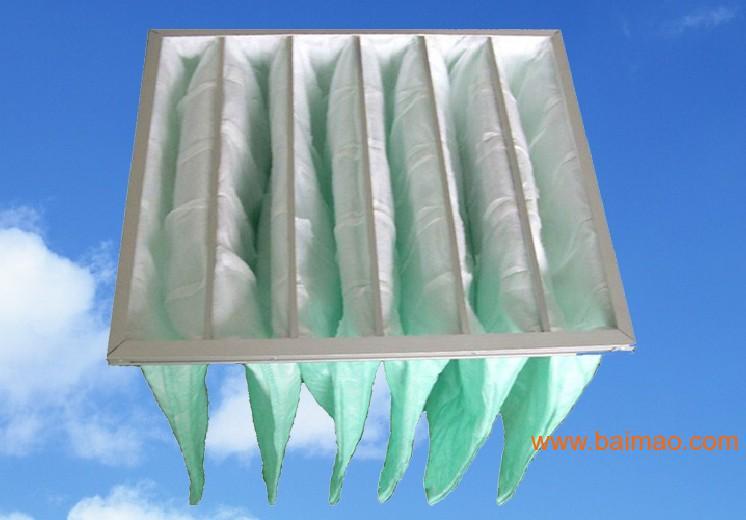 内蒙古云南昆明中效袋式空气过滤器|袋式空气过滤网
