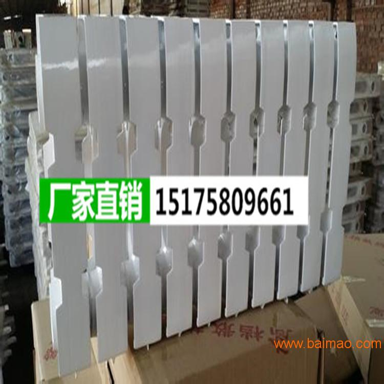 暖氣片柱翼600暖氣片家用老式鑄鐵噴塑烤漆銀粉內腔