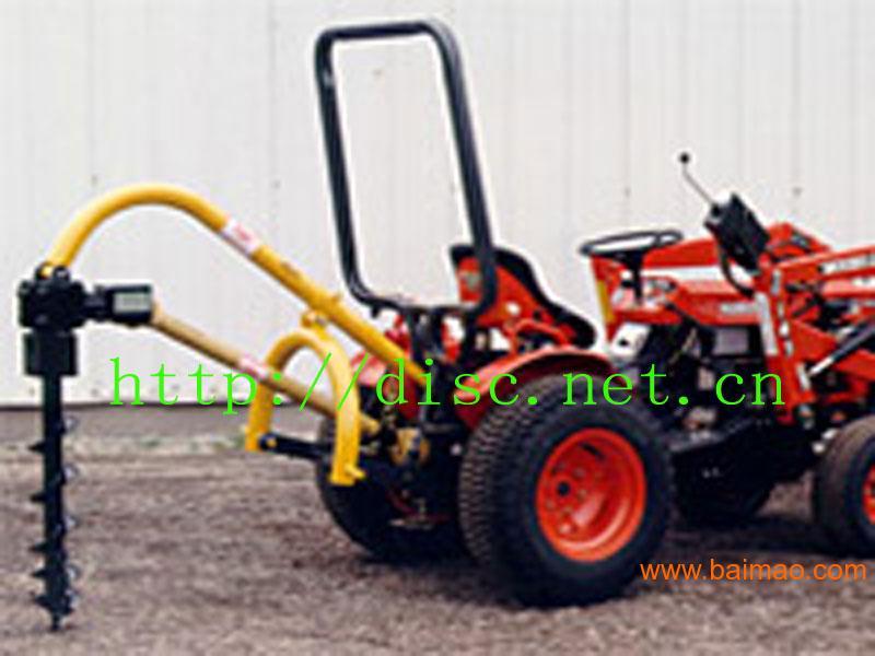 供应拖拉机配套植树挖坑机 挖穴机 高清图片