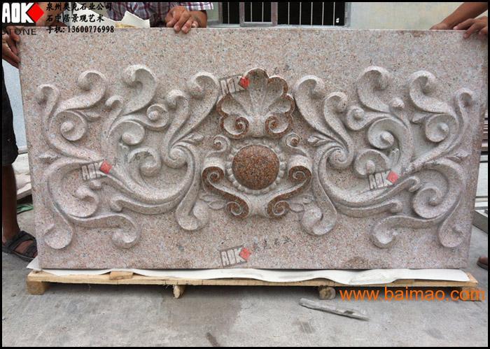 欧式别墅外墙装饰石材浮雕 线条 罗马柱 雕花 拱门图片