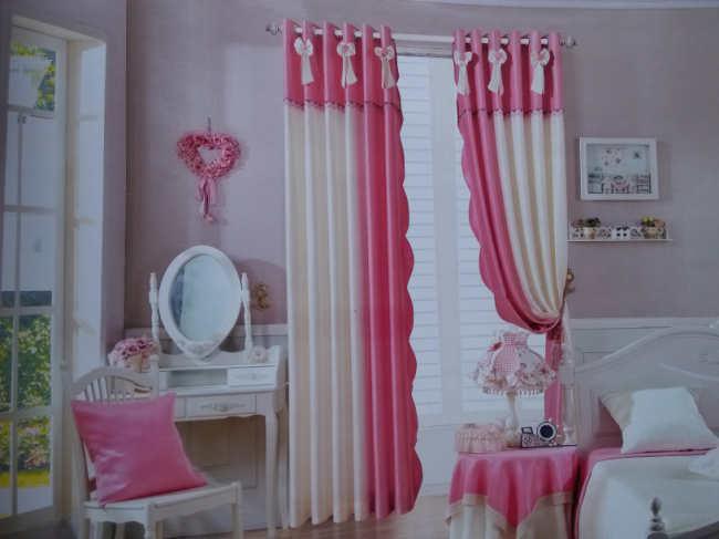 精美遮光布艺窗帘