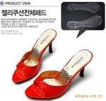 厂家批发 高跟鞋 脚七分垫垫女式Gel水晶透明防滑鞋垫PH18