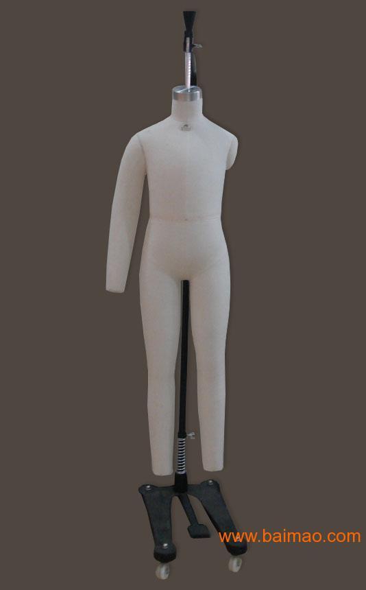 供应童装全身人体立裁模特 儿童服装裁剪模特