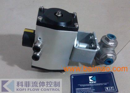 Q615F气动不锈钢三通丝扣球阀
