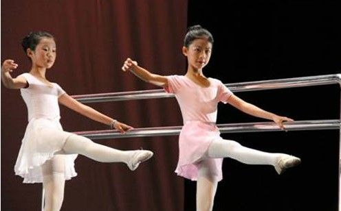 儿童形体芭蕾教学