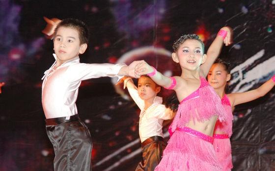 少儿拉丁舞教学