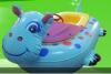 兒童電瓶船  卡通電瓶船玩具船戲水  水上玩具船