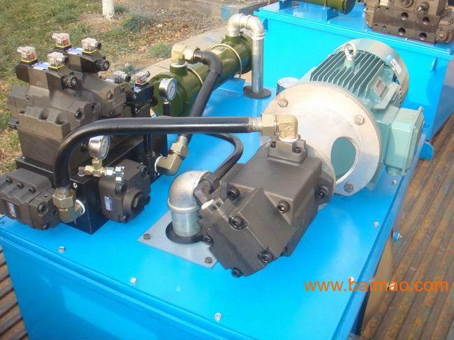 液压源含有液压泵,电动机和液压辅助元件;液压控制部分含有各种控制阀图片