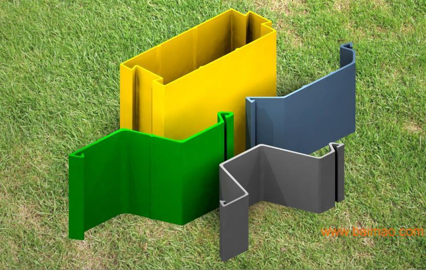 高强度组合式中空塑钢板桩 全国招代理商 新型环保建材 市场需求量大,前景广阔