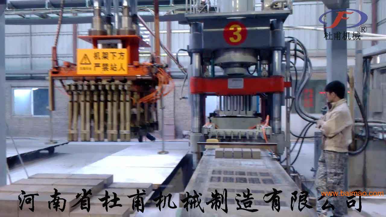 河南最好的液压砖机设备厂家图片