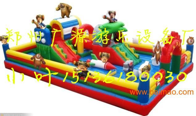 儿童充气蹦蹦床城堡,跳跳床 大型充气玩具城堡