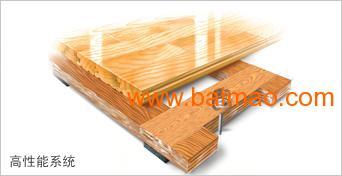 佛山市体育馆活动木地板厂家施工流程