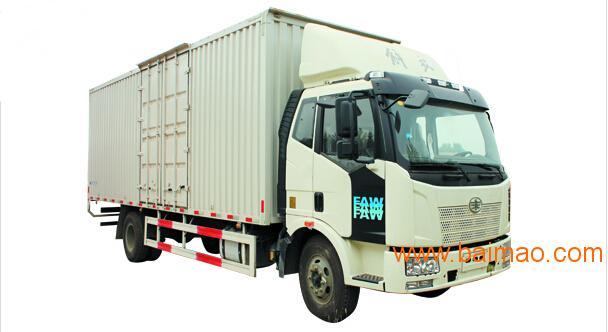 一汽解放j6L国五7.7米厢式货车,一汽解放j6L国五7.7米厢式货车生产图片