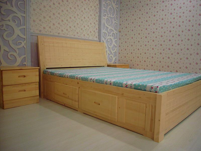 厦门松木家具松木床