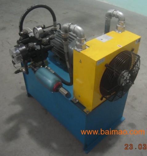 5kw电机液压泵站图片
