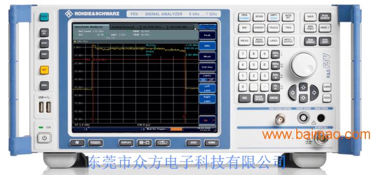租赁 FSV 信号分析仪
