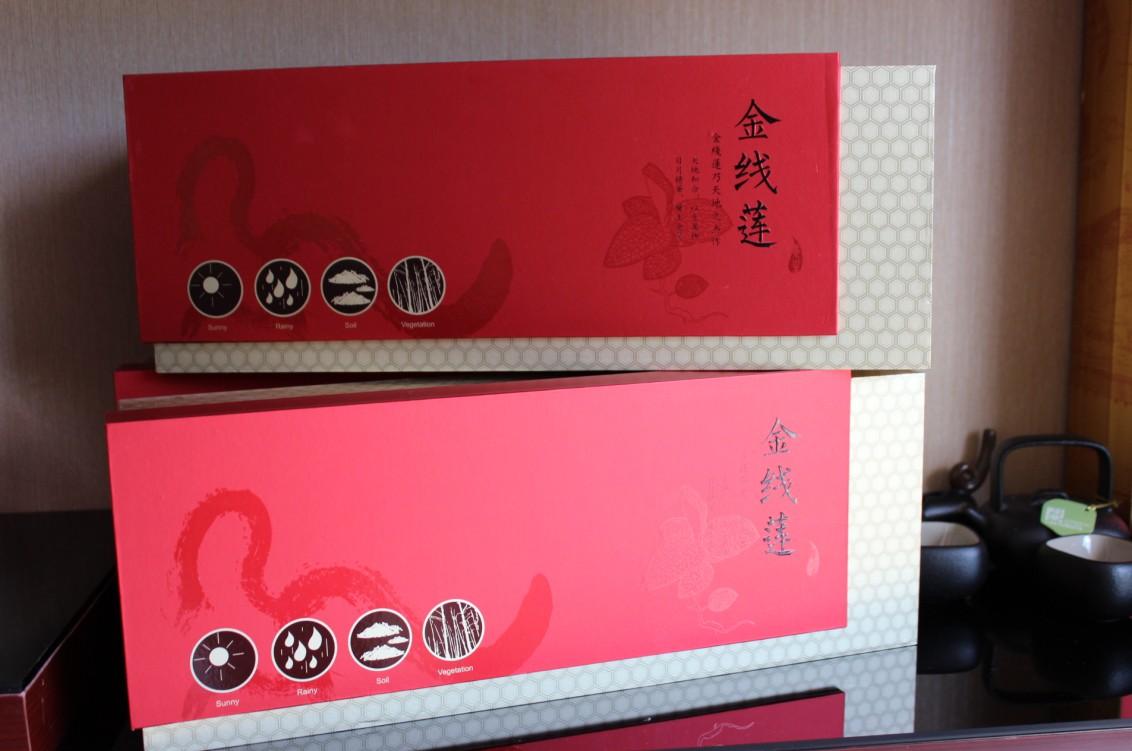 金线莲干品礼盒