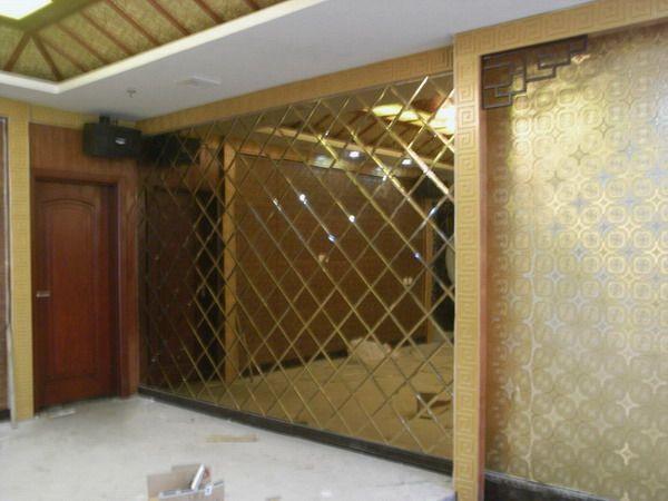 拼镜系列,厦门玻璃背景墙