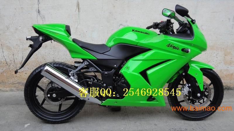 特卖川崎小忍者250摩托车 高清图片