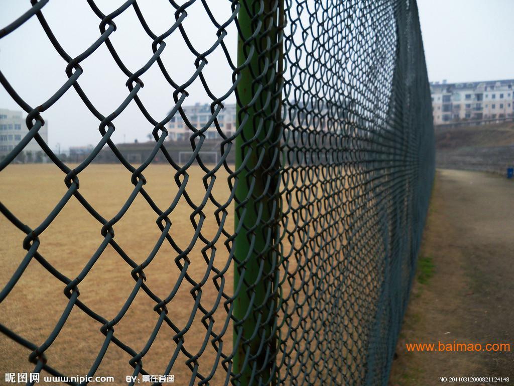 佛山公园勾花铁丝围栏中山园林勾花网定做价格惠州护栏