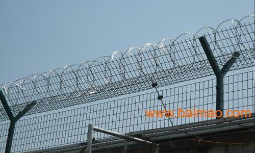 河源铁丝网定做*湛江厂区隔离网价格*梅州刺绳批发