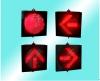 新疆拉薩交通信號燈廠家_交通紅綠燈廠家_交通燈