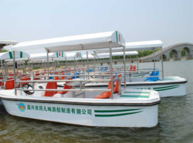 不锈钢自动排水脚踏船图片