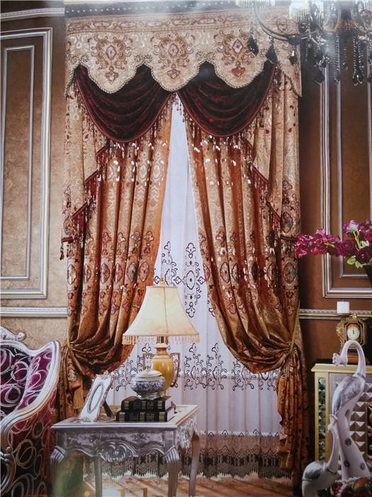 欧式遮阳窗帘,欧式遮阳窗帘生产厂家图片
