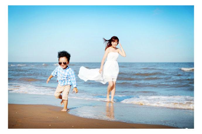 海边儿童摄影
