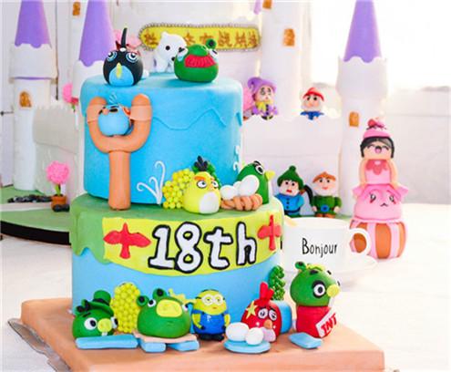 彩虹蛋糕做法