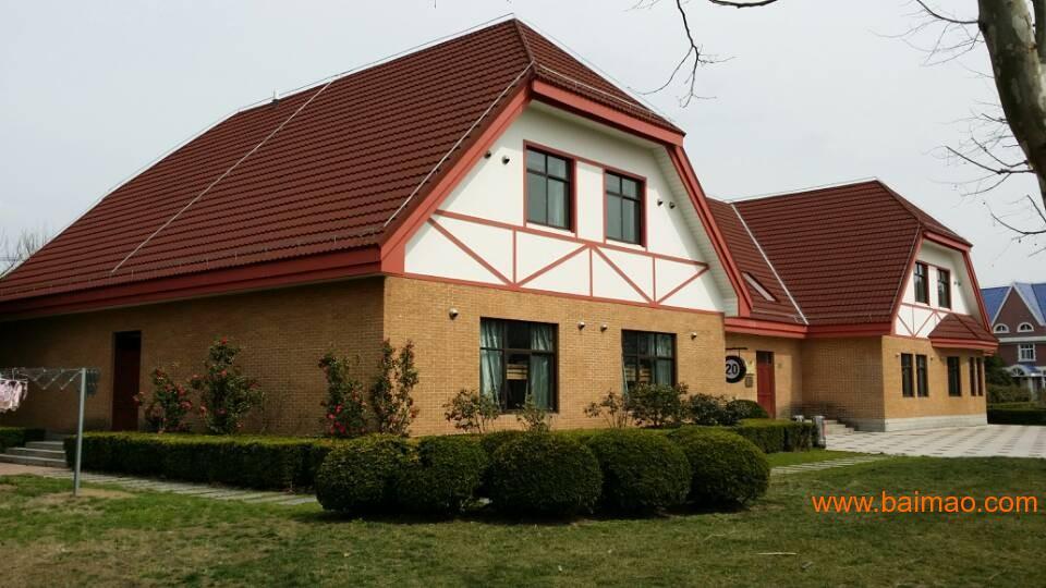 吉林通化价格金属瓦当地有v价格,地砖瓦金属彩石户进别墅图片