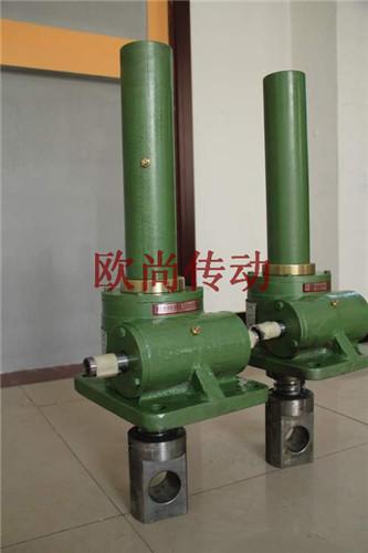 厂家直销SWL5吨小型手摇电动螺旋丝杆升降机