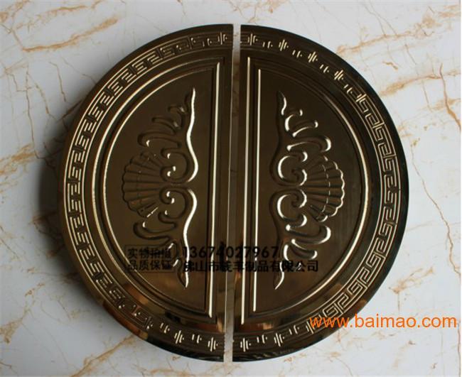 双弯不锈钢圆形雕刻大门拉手,双弯不锈钢圆形雕刻大门拉手生产厂