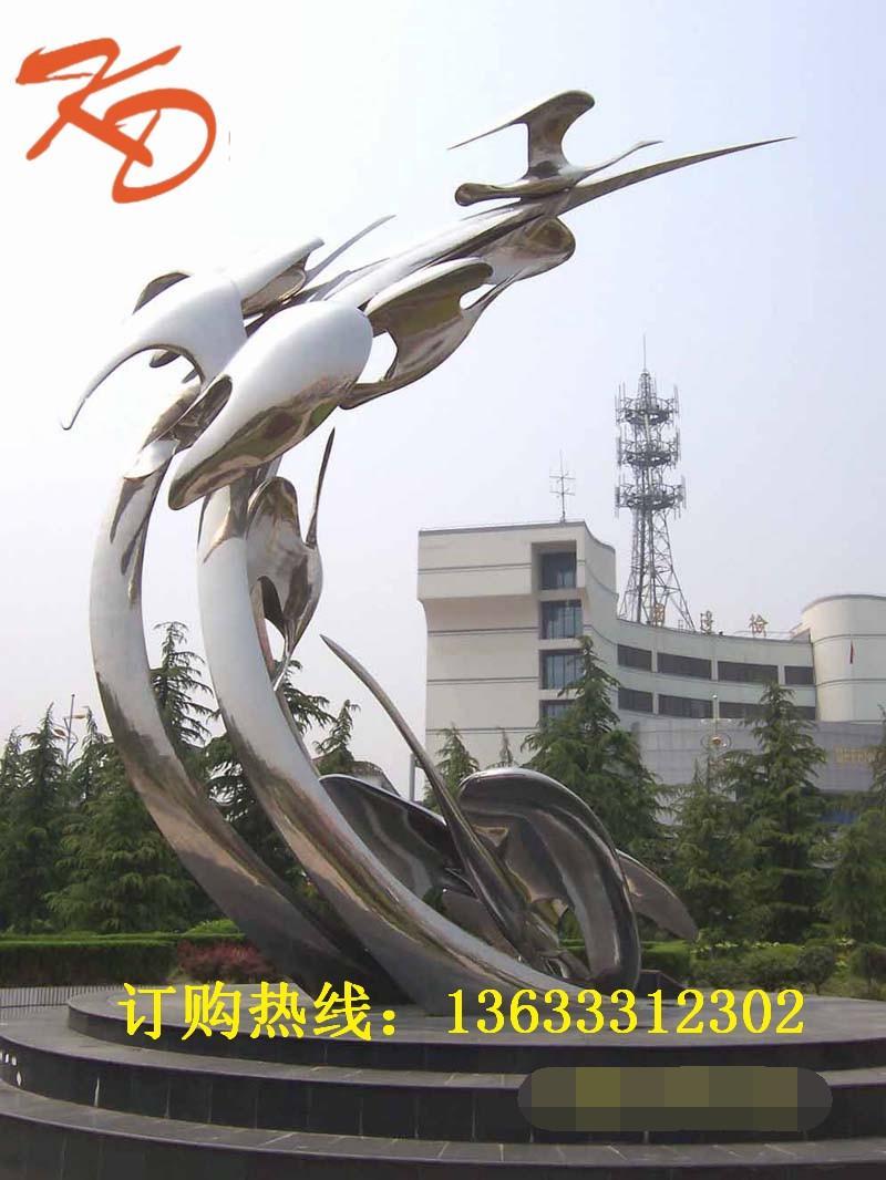 不锈钢企业雕塑加工厂家支持定制