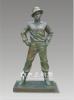 西方人物雕塑  人物銅像   銅雕像