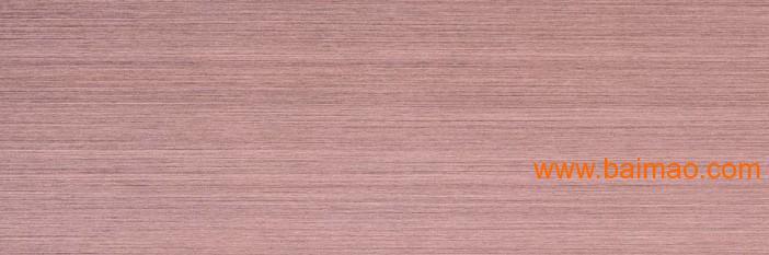不锈钢拉丝彩色板,玫瑰红不锈钢拉丝板厂家/批发/供应商图片