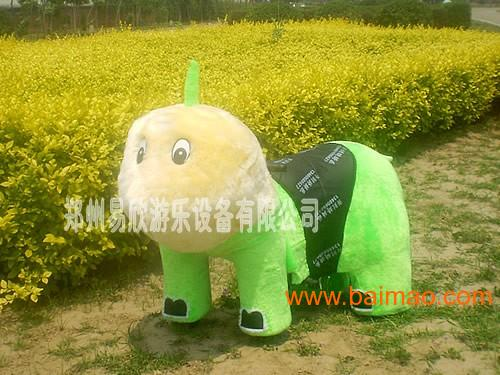毛绒电动车 电动动物车 卡通玩具车 儿童电动车价格