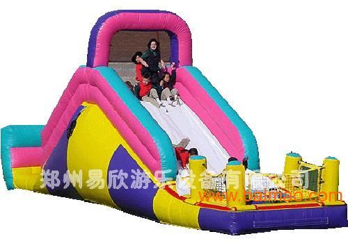 【热销】广场充气滑梯,大型充气滑梯,儿童游乐滑梯