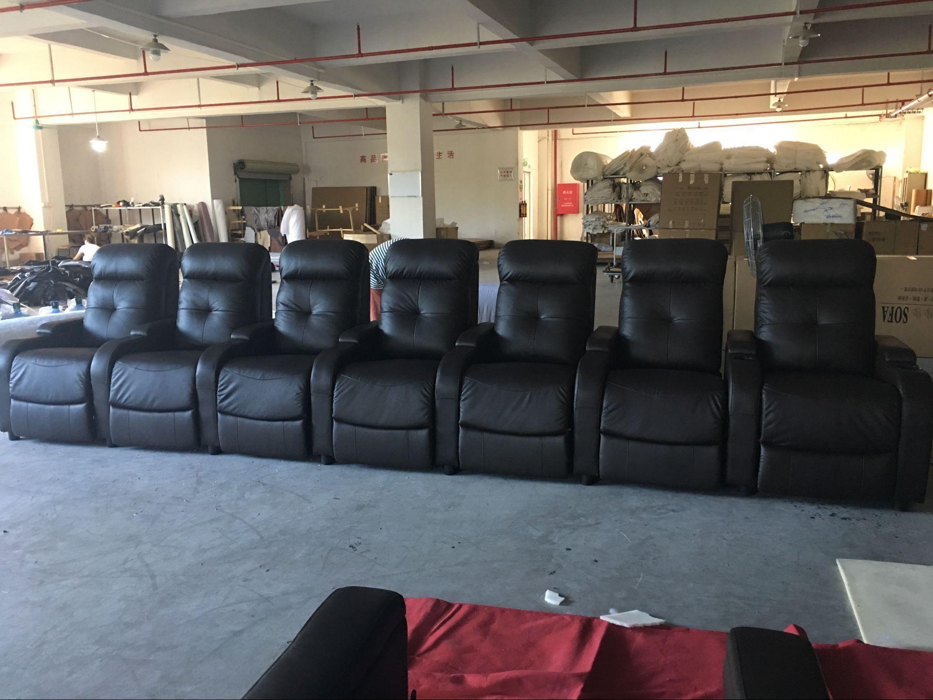电动影吧沙发_会所VIP沙发_头等舱影院沙发供应