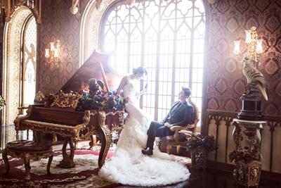 供应婚纱影楼实景-欧式实景制作,韩式影楼实景设计图片