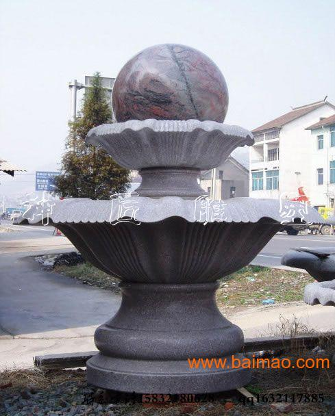 曲阳石雕风水球现货,2012最新风水球摆放
