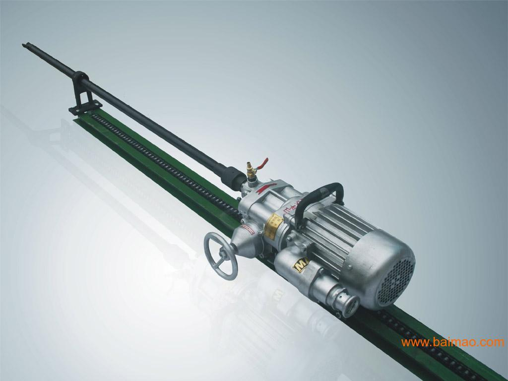 **钻机推荐3KW滑道钻机 KHYD75岩石电钻