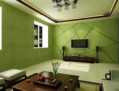 硅藻泥客厅