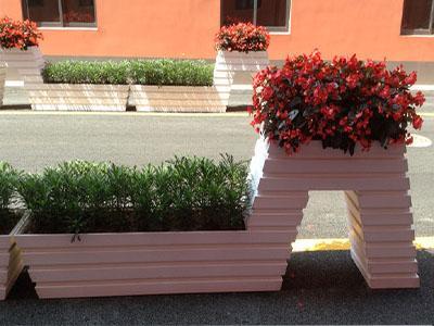 河南护栏花箱,河南街道护栏花箱,河南户外街道花箱