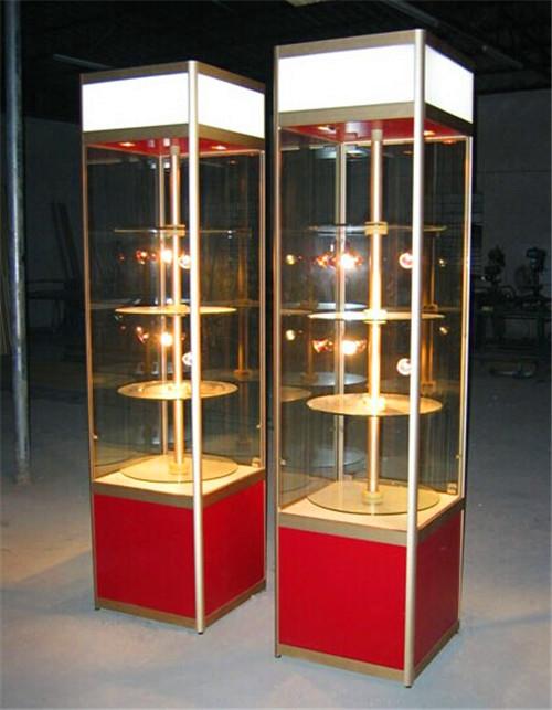 旋转式精品柜