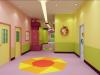 纯色室内幼儿园地板专业生产