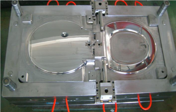 PP马桶盖模具  UFPP盖板模具厂供应