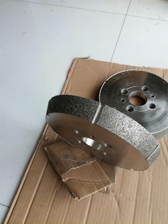 电镀金刚石砂轮 刹车片倒角专用砂轮 异形定制