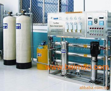 反渗透水处理设备-双级反渗透纯净水设备