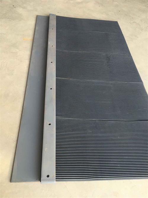 防尘帘规格    皮带机导料槽   挡尘帘